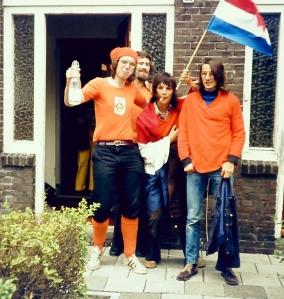 vlnr; vriend, Frans, Ard en Hans
